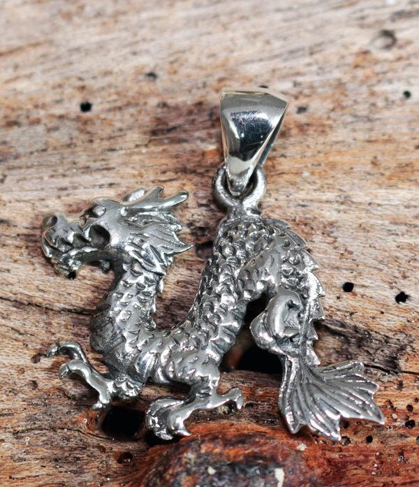 Drache Silber Anhänger im Ganesha Shop preiswert kaufen