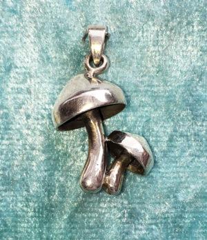 Pilze Silberanhänger im Ganesha Online Shop