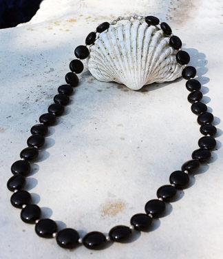 Halskette aus Onyx