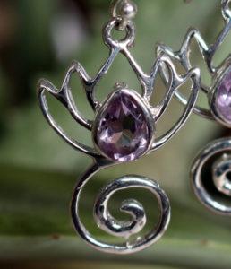 Ohrringe mit Amethyst günstig im Ganesha Online Shop