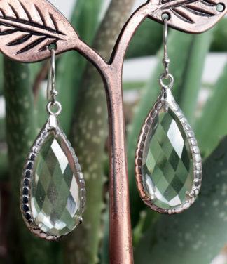 Bergkristall Ohrringe mit Silber im Ganesha Online Shop kaufen