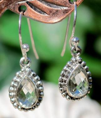 Citrin Silber Ohrringe im Ganesha Online Shop
