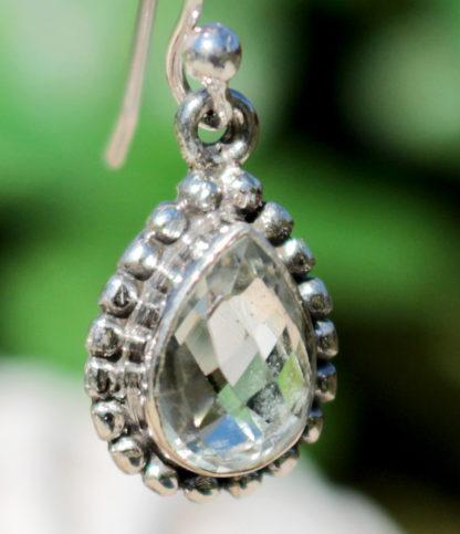 Citrin Silber Ohrringe im Ganesha Shop kaufen