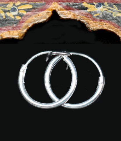 Creolen Ohrringe aus Silber im Ganesha Online Shop
