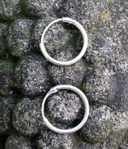 Creolen Ohrringe aus Silber preiswert