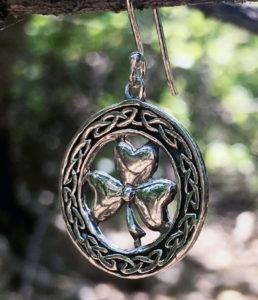 Kleeblatt Silber Ohrringe online kaufen