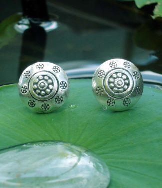 Silber Ohrstecker aus Chiang Mai