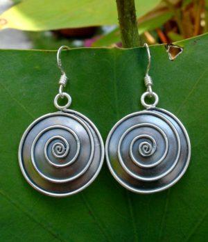 Silber Ohrringe aus Chiang Mai