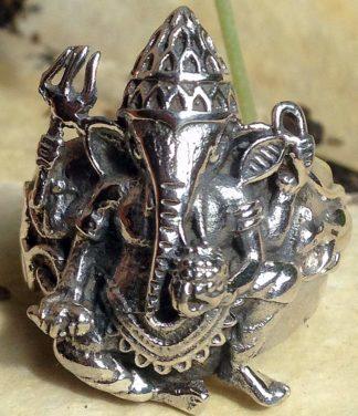 Ganesha Silberring