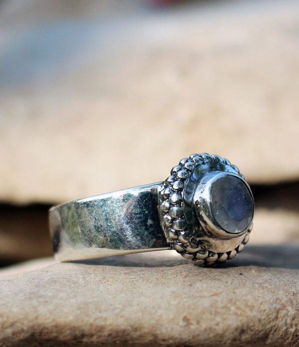 Mondstein Silberring günstig im Ganesha Online Shop