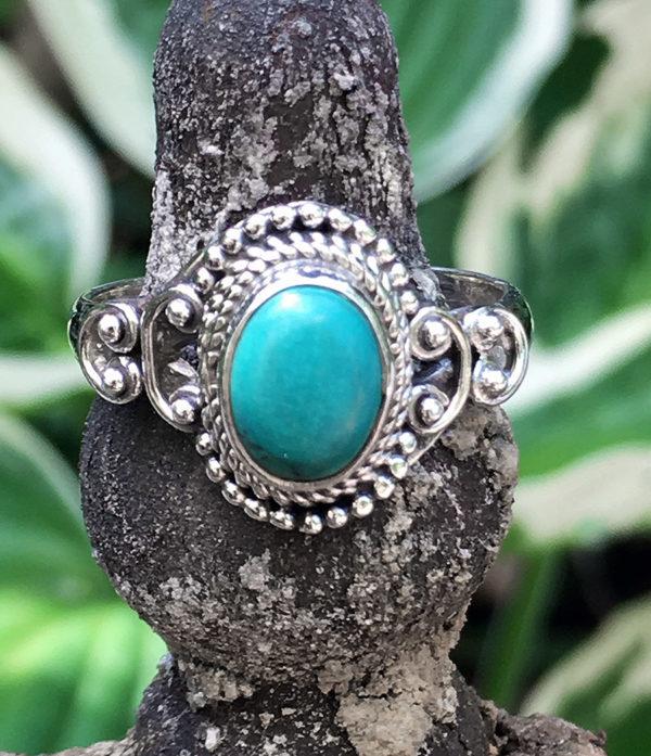 Silberring mit Türkis im Ganesha Online Shop