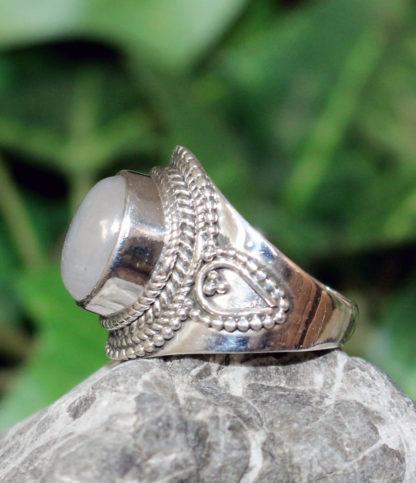 Silberring mit Mondstein kaufen