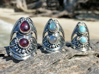 Jugendstil Silberringe online kaufen