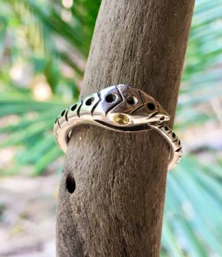 Ouroboros Schlangenring in Silber online kaufen