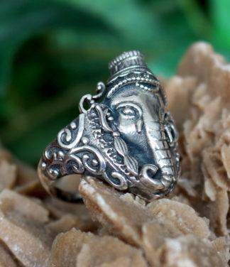 Ganesha Silberring aus Indien im Shop kaufen