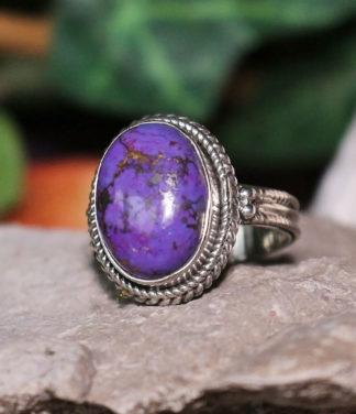 Mohave-Türkis Silberring im Ganesha Online Shop kaufen