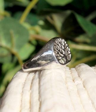 Silberring mit Lebensbaum kaufen