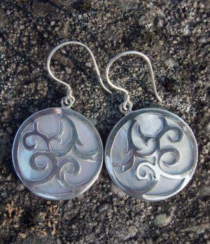Ohrringe aus Bali