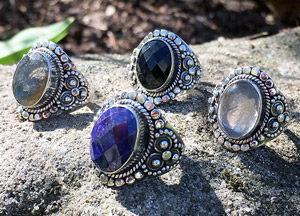 Silberringe nach Ringgrößen sortiert