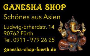 Kontakt und Öffnungszeiten Ganesha Shop Fürth